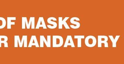 Wearing Of Masks No Longer Mandatory