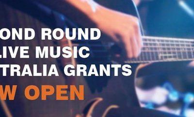 Second Round Of Live Music Australia Grants Now Open